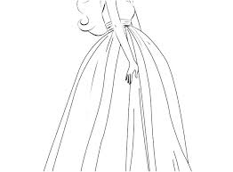 Barbie Dress Up Coloring Pages Predragterziccom