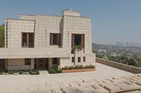 frank lloyd wright s ennis house a favorite of and television producers and a focus on a new television show on his work in los angeles