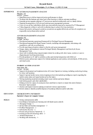 Management Analyst Resume Example Access Analyst Resume Samples Velvet Jobs 26