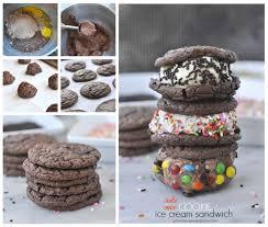 cake mix cookie ice cream sandwiches