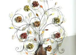floral metal wall art uk