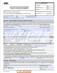 Dmv Application Form Custom Get California Dmv Registration Forms Document And Letter Collection