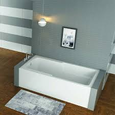 ma bath end drain skirted alcove tub x maax corinthia ii bathtub