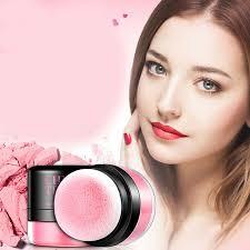 details about 1pcs women soft natural blusher powder glossy chic makeup bronzer powder durable