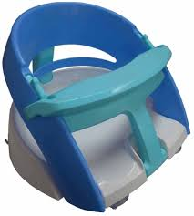 dreambaby deluxe bath seat blue