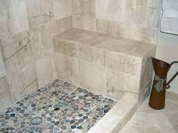 how to clean stone tile shower how to clean pebble stone shower floor pebble stone shower