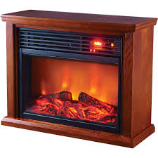 this profusion heat infrared electric fireplace puts soothing infrared heat in a handsome wooden cabinet