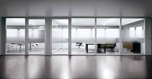 office wall divider. Home Office Glass Partition Wall Divider In