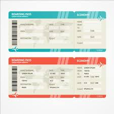 Airline Ticket Template Word Enchanting Free Airline Ticket Template Rjengineeringnet
