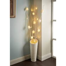 Small Picture 25 LED Rose Branch Lights Home Decor Lighting