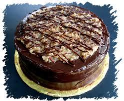 Decorated German Chocolate Cake David Lebovitzs German Chocolate Cake Veronicas Cornucopia