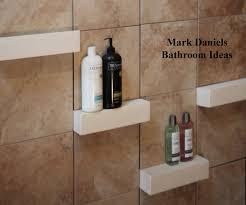 Bathroom Remodeling Design Ideas Tile Shower Shelves Renovation - Bathroom shower renovation