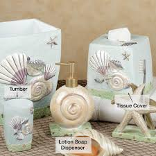 Paris Bathroom Decor Seashell Bathroom Decor Accessories Bath Accessories Touch Of