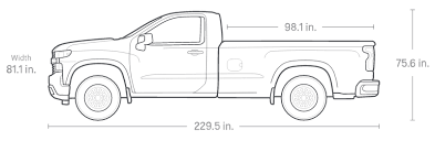 All-New 2019 Silverado 1500 Pickup Truck: Full Size Truck