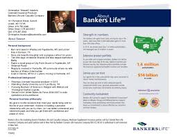 Bankers Life And Casualty Bankers Life Resume