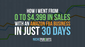 Full Time Fba Sales Rank Chart Amazon Fba How I Sold 4 399 In My First 30 Days On Amazon