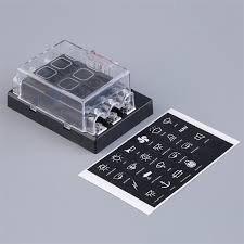popular fuse box terminals buy cheap fuse box terminals lots from 8 way circuit car atc ato blade fuse box block holder 32v terminals brand new