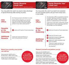 Toyota Rewards Visa