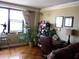 Office area in living room Elegant Bedroom Pictures New York City View Apartment Dreaming Croatia 37 Office In Living Room Home Office How To Redesign Space