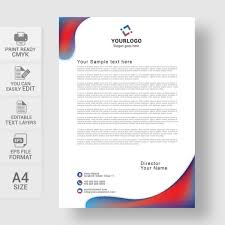 Professional Company Letterhead Professional Business Letterhead Template Free Download