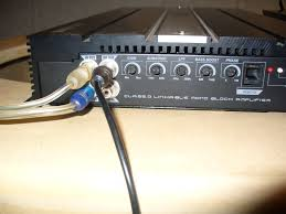 how to wire your sundown amp and strap it too sundown audio then hook the other end of the strapping rca into the slave amp where it says br in