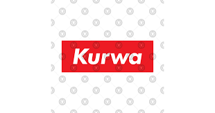 Word In Red Kurwa In Red Text Typography Word By Fogsj