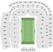 Darrell K Royal Stadium Seating Chart Darrell K Royal Texas Memorial Stadium Tickets With No