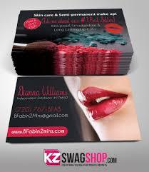 Senegence Business Cards Style 2 Kz Swag Shop