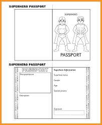 Free Passport Template For Kids British Passport Template] Passport Template By Torstout Teaching 93