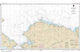 Noaa Navigation Charts 16003 Arctic Coast Alaska Nautical Chart