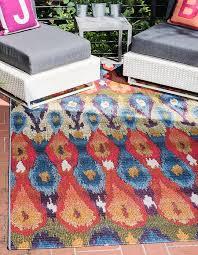 8 x 11 4 outdoor modern rug