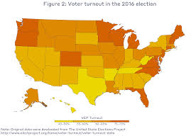 Us Voter Turnout Chart Voter Turnout Mit Election Lab