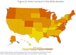 Voting Comparison Chart Voter Turnout Mit Election Lab
