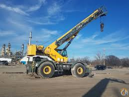 Grove Rt760 Load Chart Grove Rt760e For Sale Crane For Sale In Toledo Ohio On