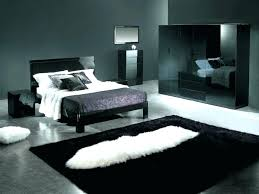 modern bedroom black. Modern Themed Bedroom Black And Gold Decor Master