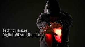 Technomancer Digital Wizard Hoodie From Thinkgeek