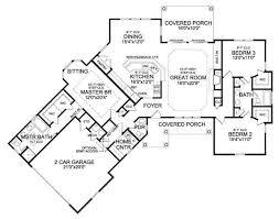 369 best floorplans images on pinterest house floor plans, dream Four Bedroom 3 Bath House Plans craftsman style house plan 3 beds 2 5 baths 2065 sq ft plan 456 four bedroom 3 bath house plans