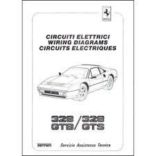wiring diagrams pdf ferrari automobilia maranello literature 17 25 1986 ferrari 328 gtb gts wiring diagrams 438 86 pdf it fr