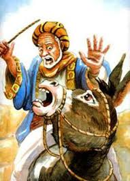 Image result for Balaam and his donkey