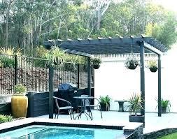garden treasures pergola replacement canopy top brown gazebo living ft x freestanding square replac