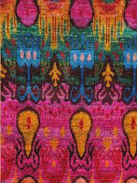 rugsville rug sari silk 13865 red green gold 4x6 13865 46