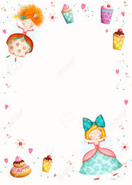 Birthday Invitation Party Happy Birthday Invitation Party Invitation Cute Small Princesses