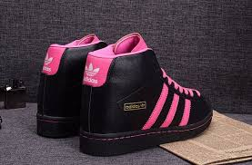 adidas shoes for girls superstar pink. girls adidas superstar supercolor pack hidden wedge leather black pink shoe shoes for e