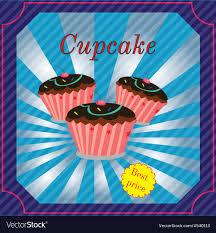 Cupcake Poster Design Cupcakes Poster Design
