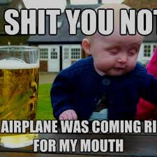 Drunk Baby Memes on Pinterest | Drunk Baby, Baby Memes and Bear Meme via Relatably.com