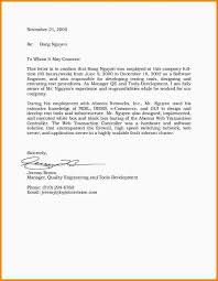 Resume To Whom It May Concern Letter In Spanish