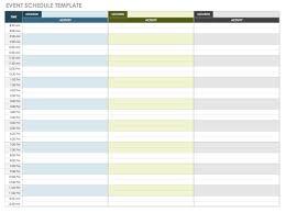 Management Plans Event Plan Template Excel Free Planning