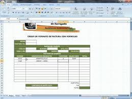 formato para facturas en excel facturas en excel contar