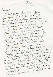 handwriting virginia woolf 600 870