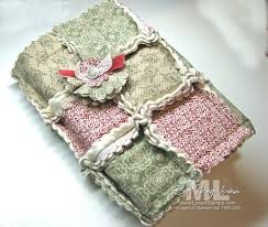 A Big Shot Christmas: Quilted Book Covers | LovenStamps & This book cover ... Adamdwight.com